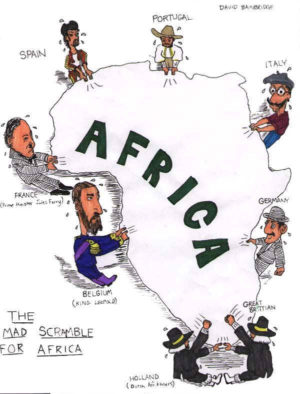 The Scramble for Africa {freebie}