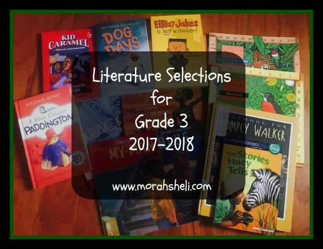Literature Selections: Grade 3, 2017-2018