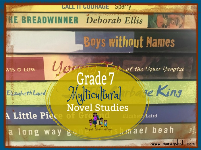 Grade 7 Multicultural Novel Studies ~ 2018-2019