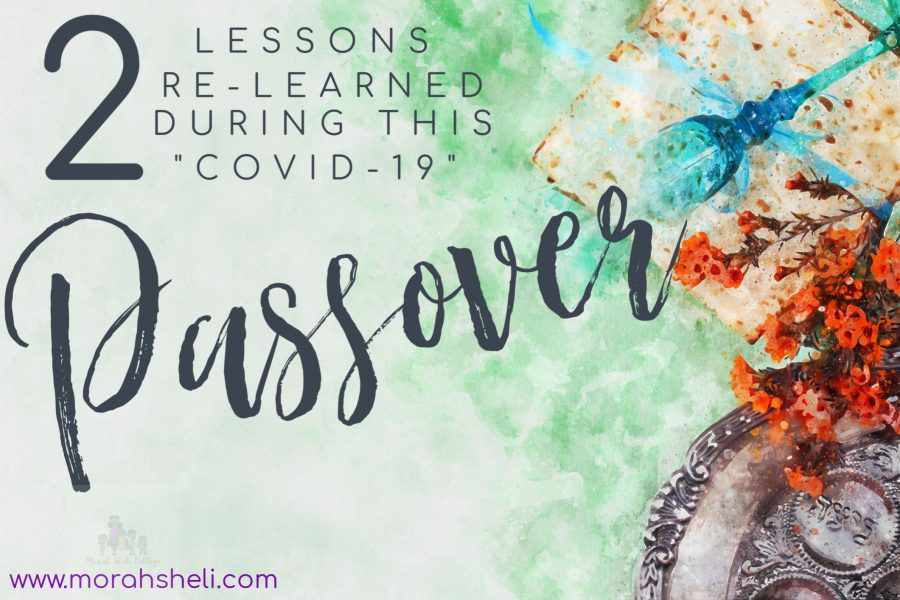 My COVID-19 Passover